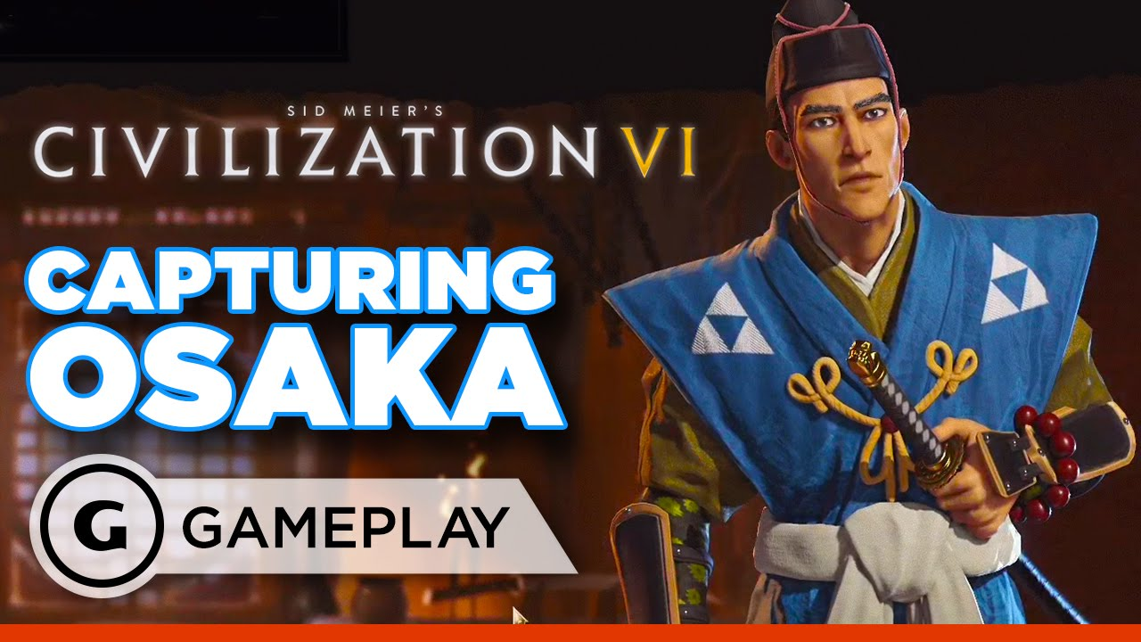 Conquering Japan in Civilization 6