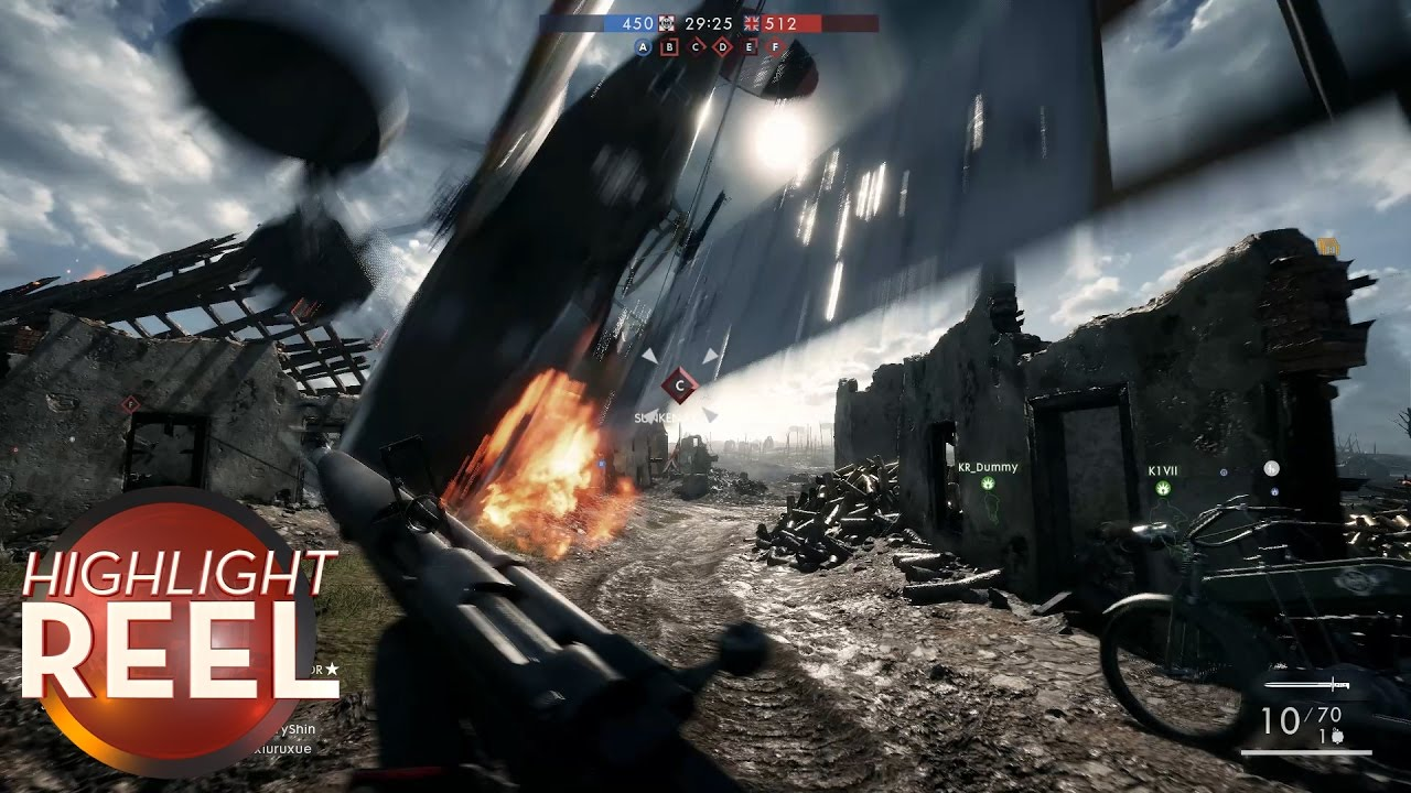 Highlight Reel #251 – Battlefield 1 Respawn Goes Poorly