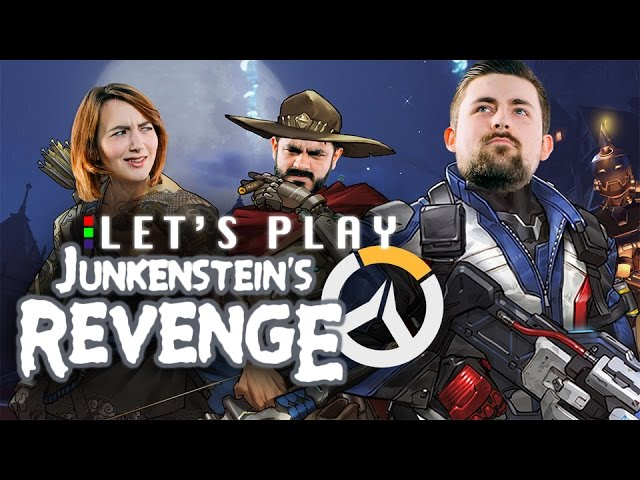 HOLD THE DOOR! – Overwatch Junkenstein's Revenge Let's Play