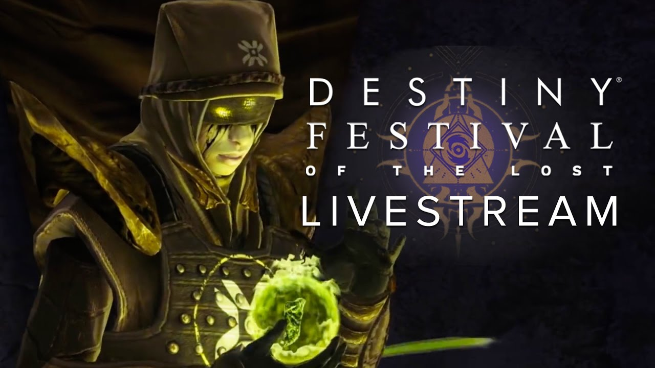 Destiny Festival of The Lost Livestream