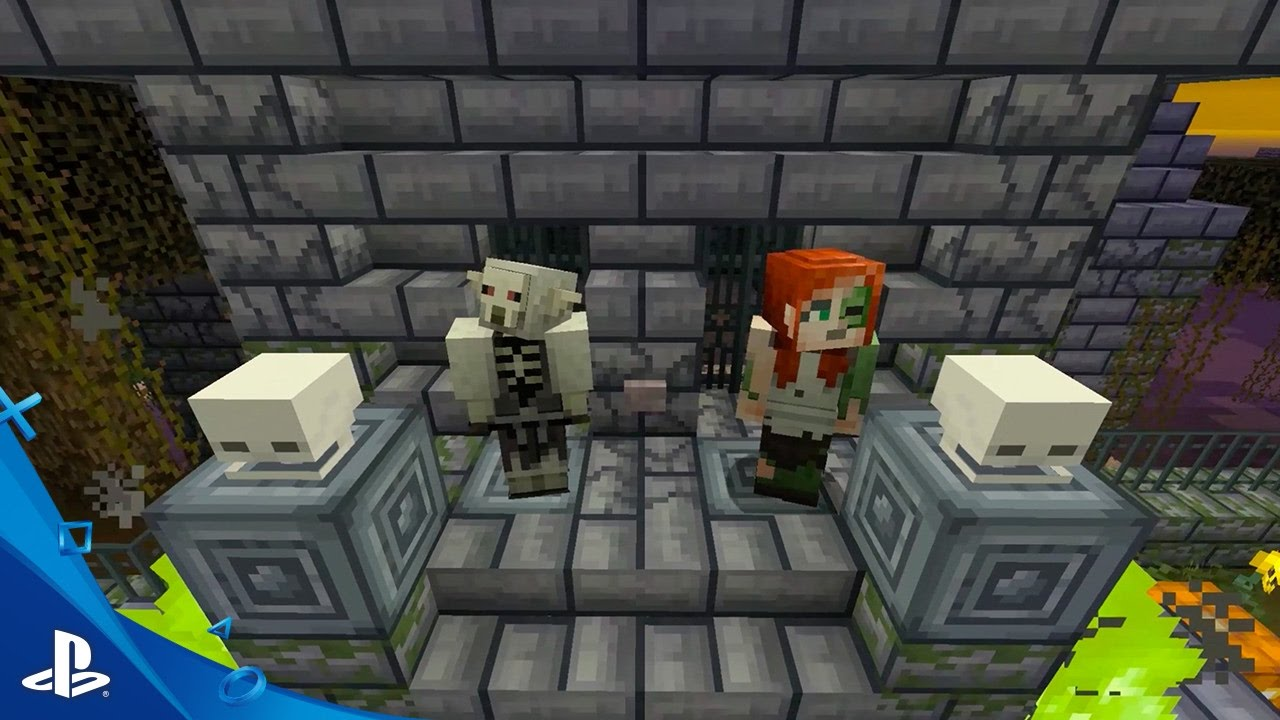 Minecraft – Spooky Bundle Trailer | PS4 PS3, PS Vita