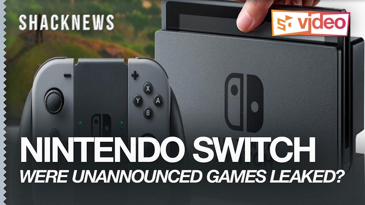 Were Unannounced Games Leaked In The Nintendo Switch Trailer?