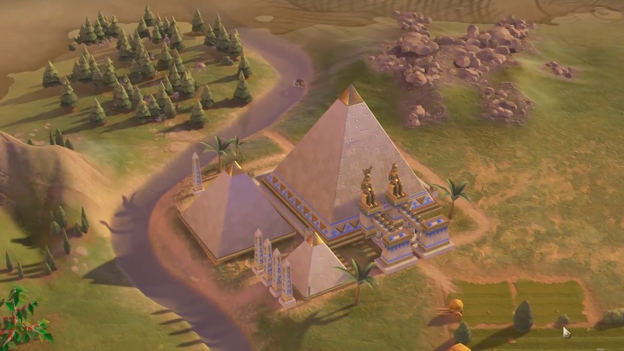 7 World Wonders Being Built in Civilization 6