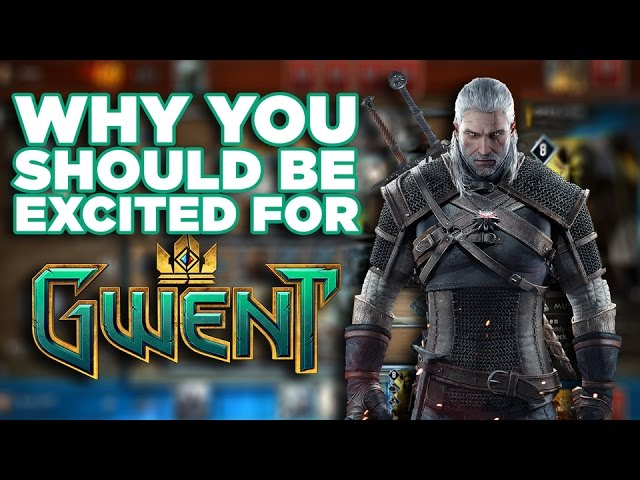 Why We're Excited for The Witcher Card Game Gwent