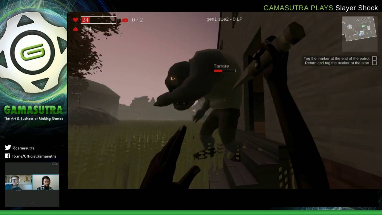 Gamasutra Plays Slayer Shock