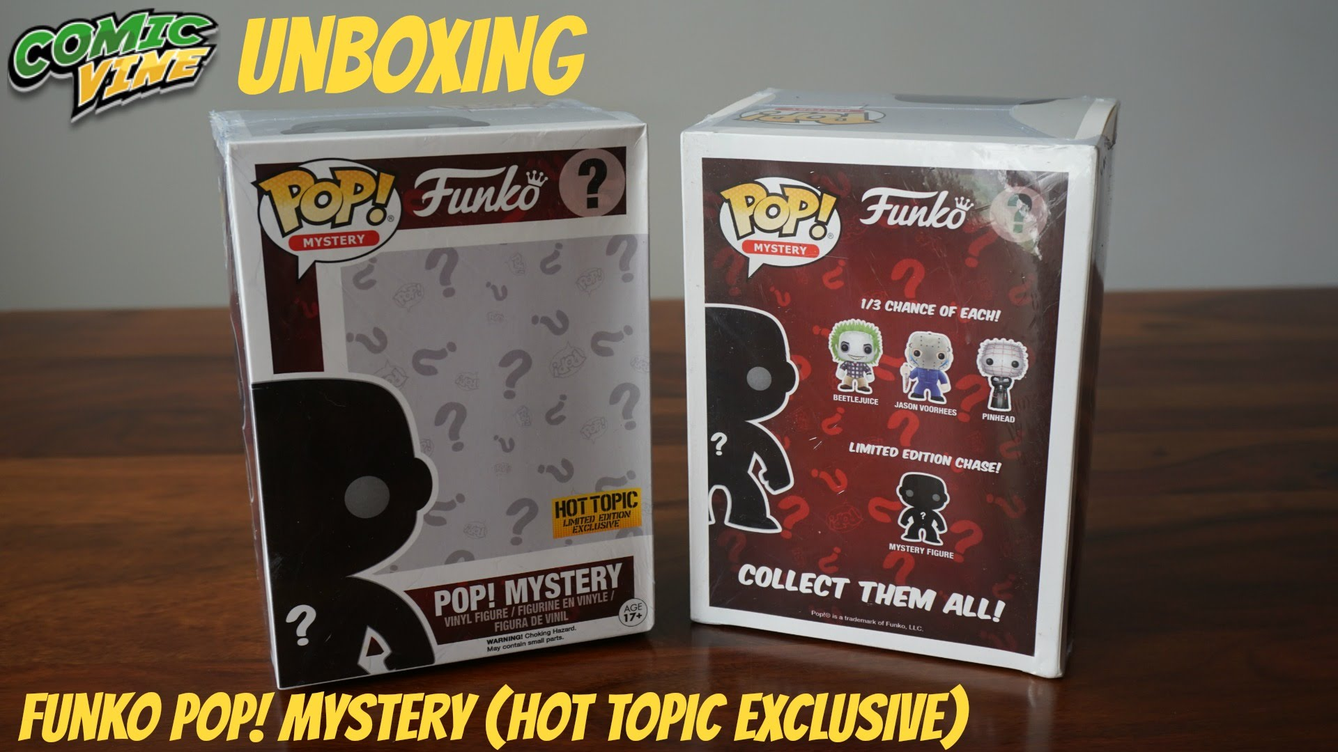 Unboxing: Funko Pop! Mystery (Hot Topic Exclusive)