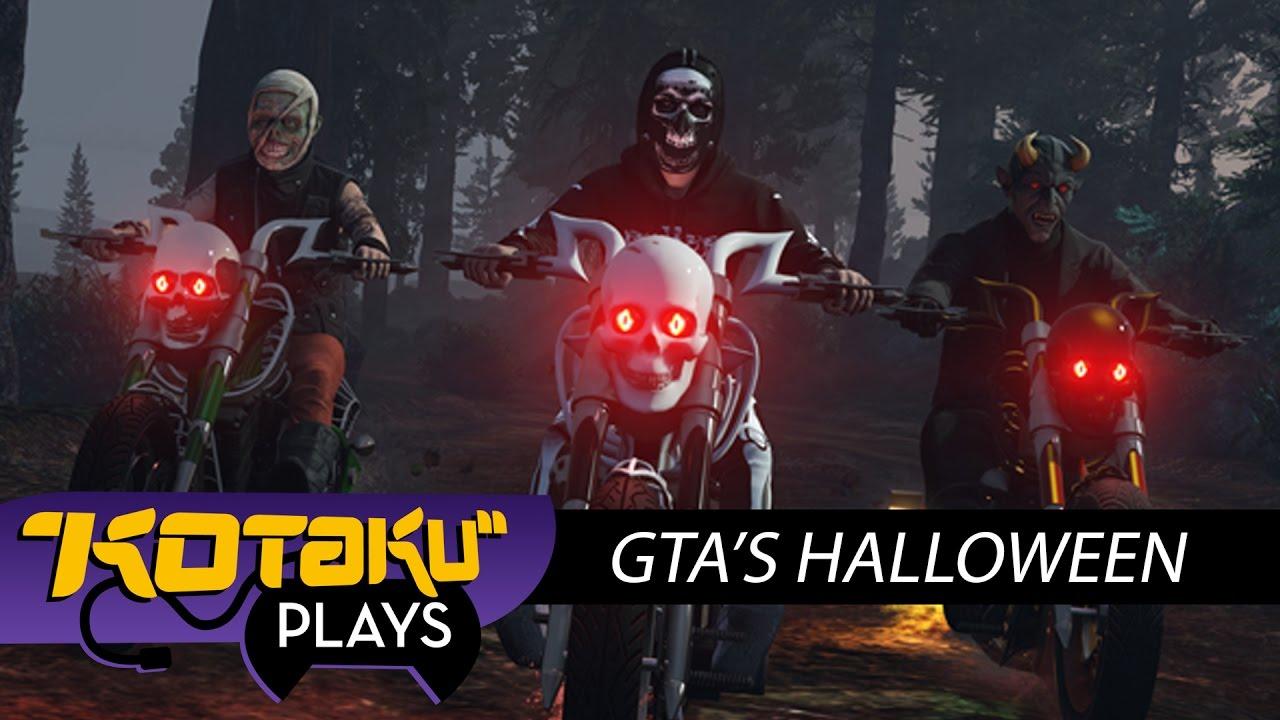 Here's How GTA Online Is Celebrating Halloween (Lost vs Damned Gameplay)