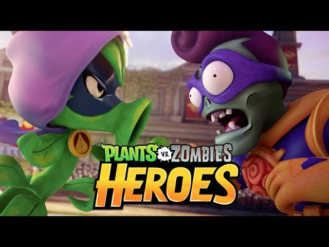 Plants vs Zombies – Heroes Trailer