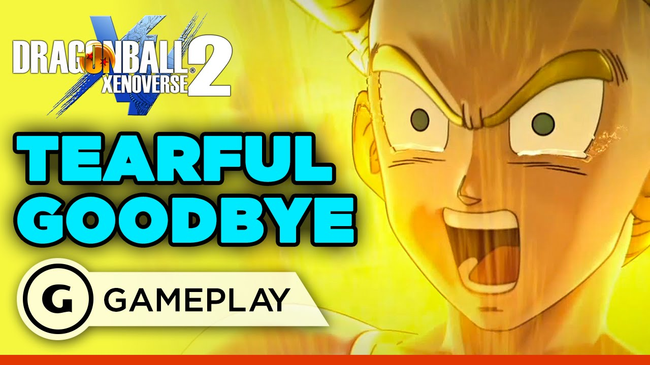 Dragon Ball: Xenoverse 2 – Tearful Goodbye Gameplay