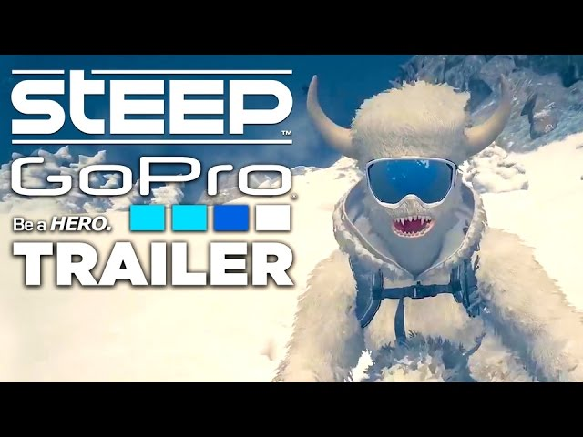 STEEP: Official GoPro Gameplay Trailer