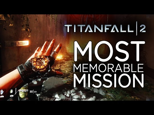 Most Memorable Mission in Titanfall 2