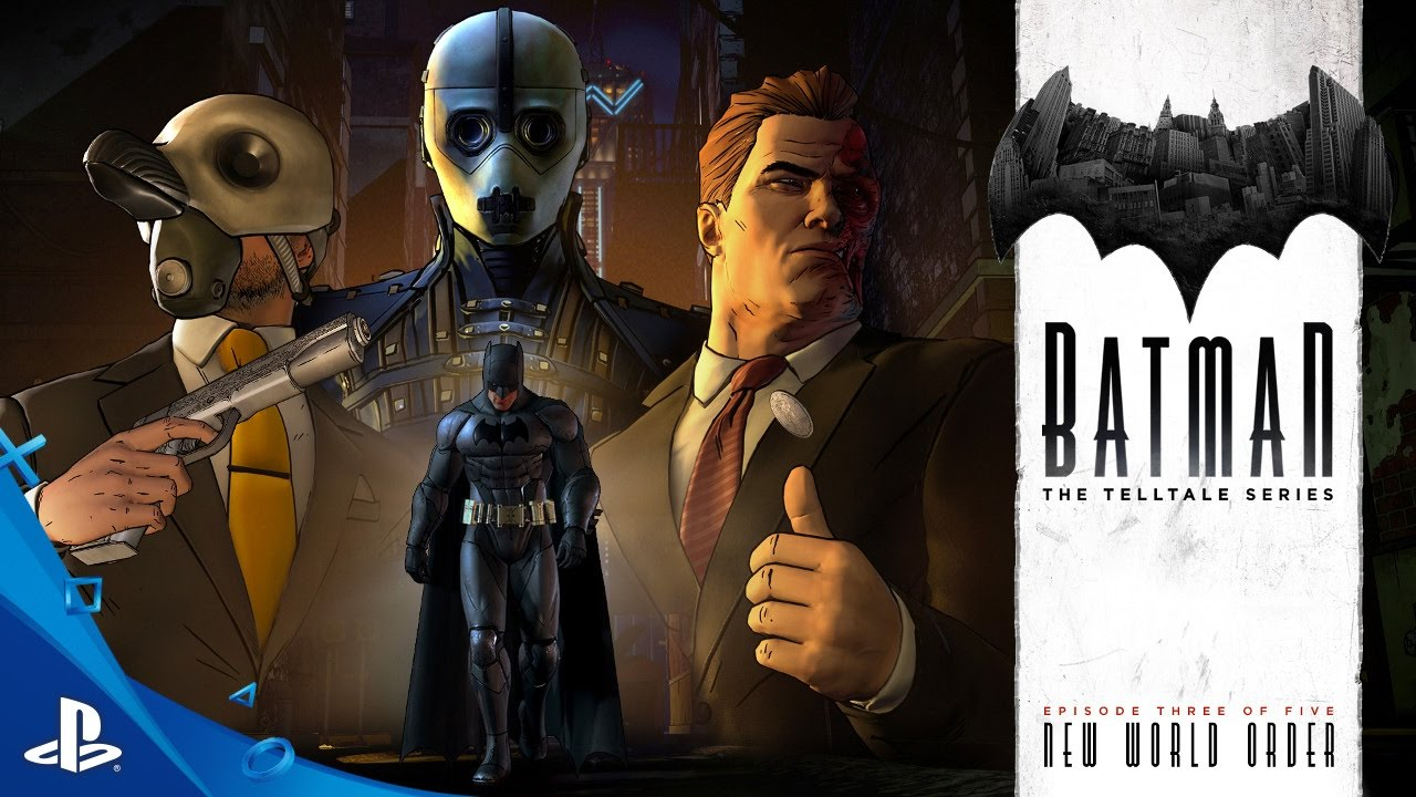 BATMAN – The Telltale Series Episode 3: 'New World Order' Trailer | PS4, PS3