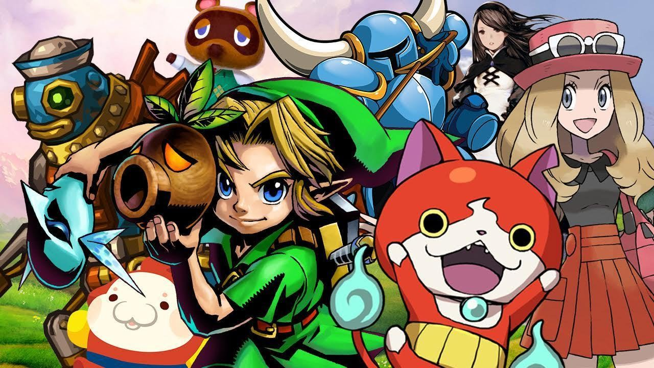 Top 25 3DS Games (Fall 2016)