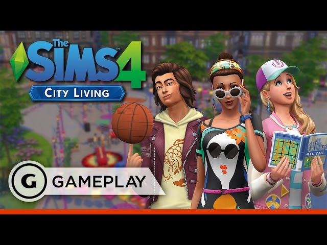10 Minutes Out On The Town – The Sims 4: City Living Gameplay