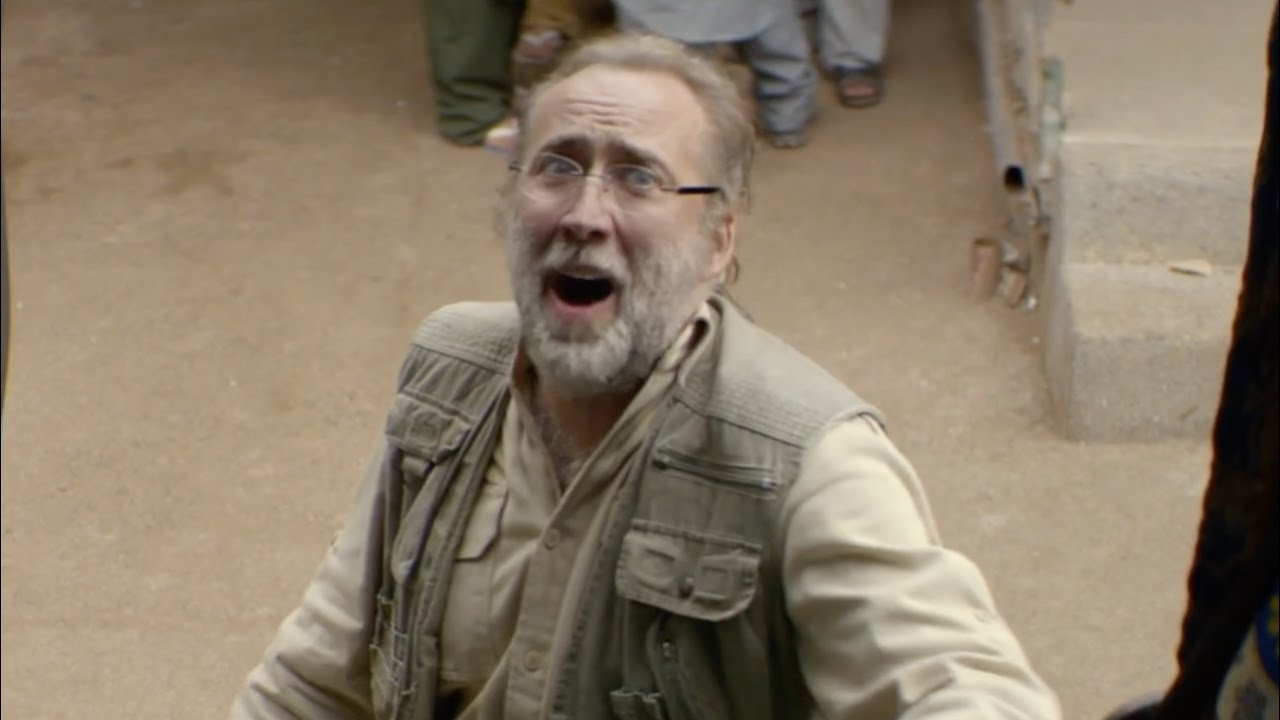 Army of One – Nicolas Cage Clip