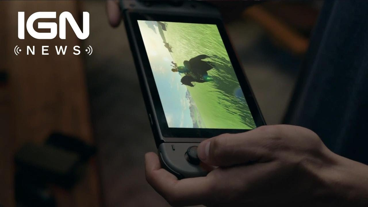 Report: Nintendo Switch Has a 720p Multi-touch Touchscreen – IGN News