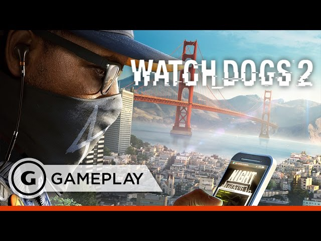"""Cyber Driver"" Gameplay Clip – 16 Minutes of Watch Dogs 2"