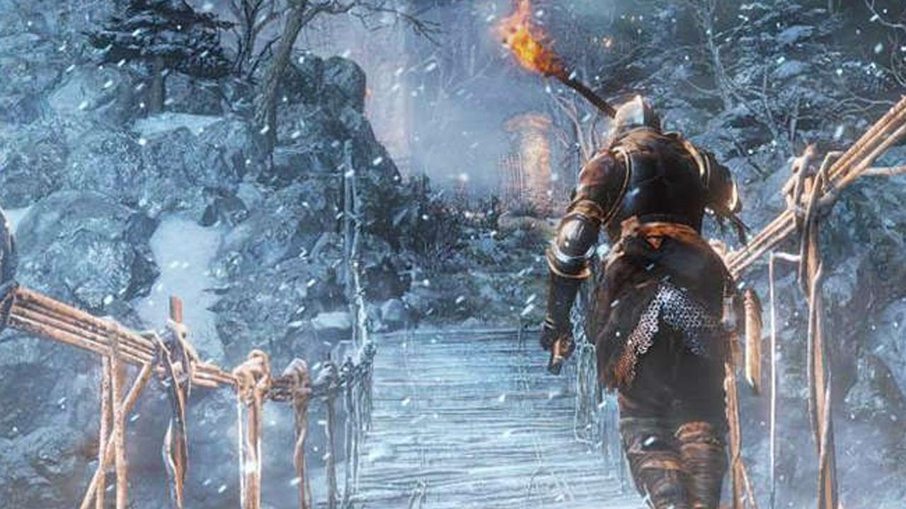 Dark Souls 3: Ashes of Ariandel – How to Defeat Gravetender Greatwolf – IGN Plays Live