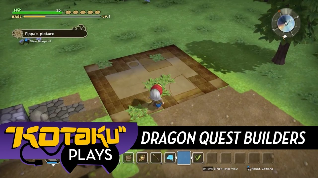 We Built Some Houses in Dragon Quest Builders