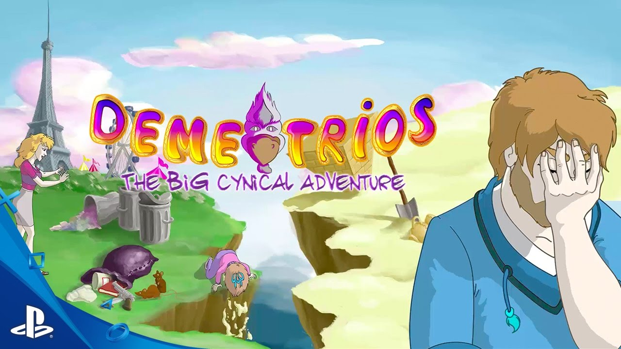Demetrios – The BIG Cynical Adventure – Launch Trailer | PS Vita