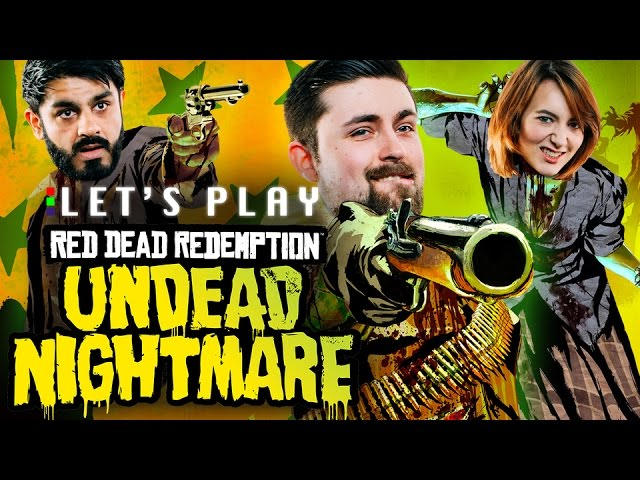 COWBOYS VS ZOMBIES – Red Dead Redemption Undead Nightmare Let's Play