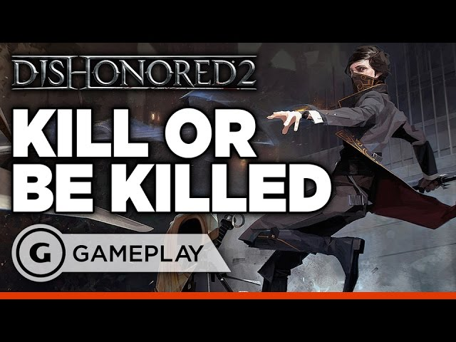 Dishonored 2's Stealth Combat