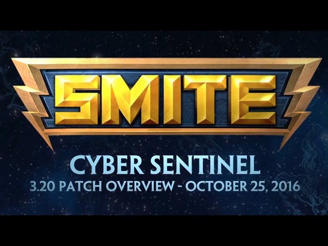 SMITE – Official 3.20 Console Patch Overview: Cyber Sentinel
