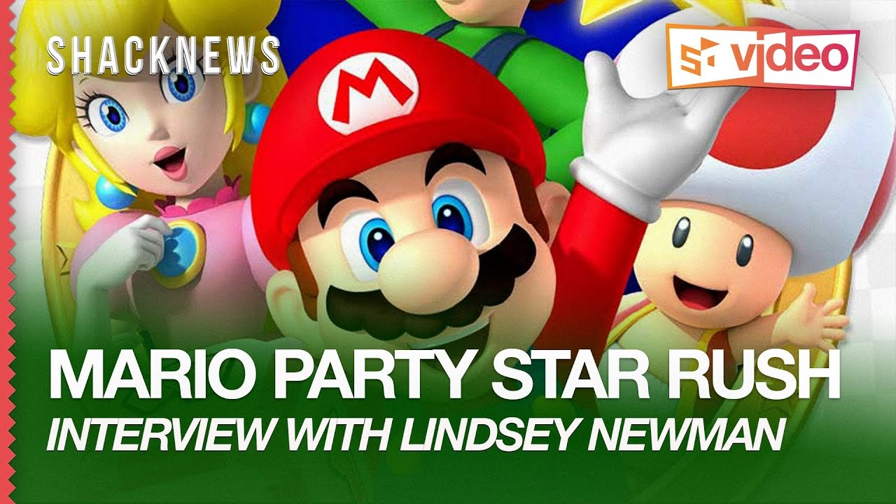 MARIO PARTY STAR RUSH: Interview with Lindsey Newman