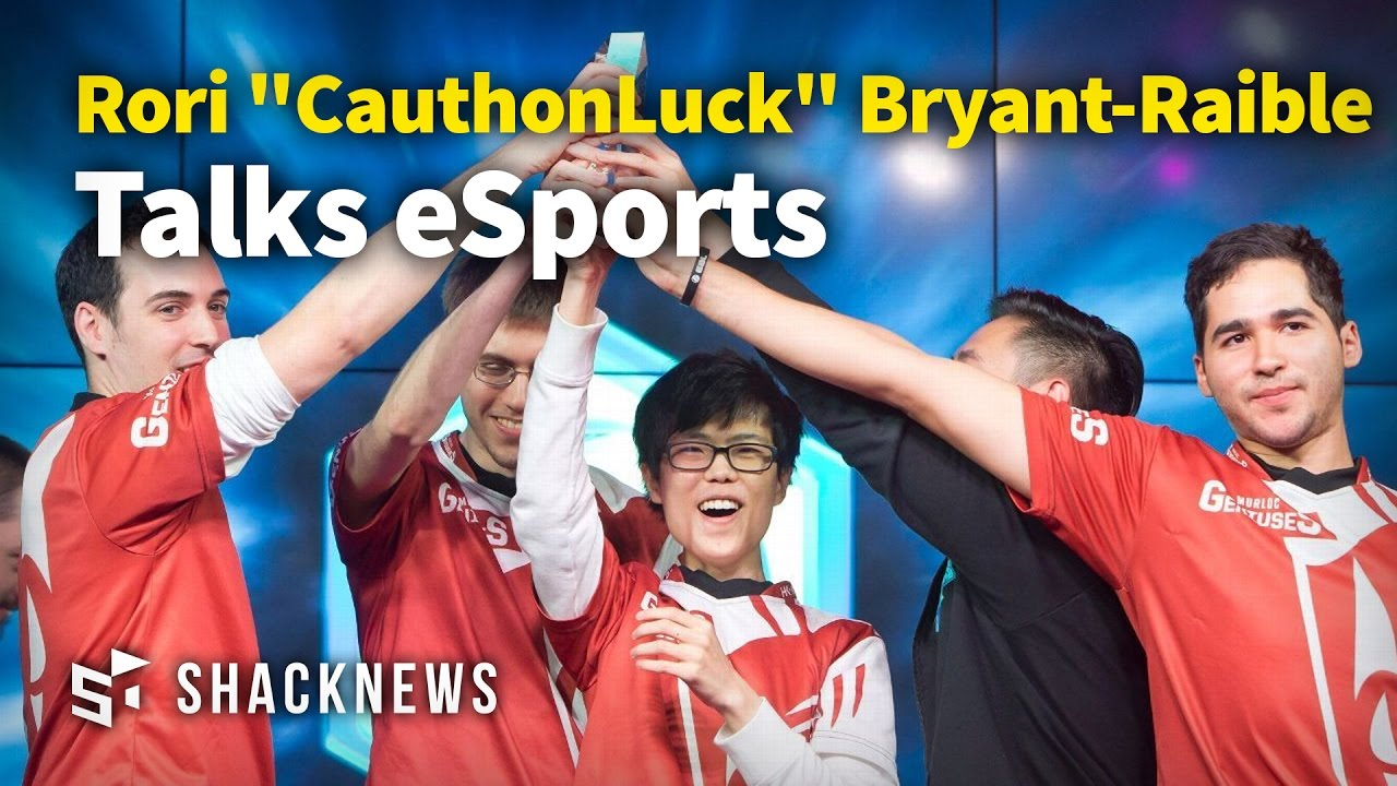 "Pro Gamer Rori ""CauthonLuck"" Bryant-Raible Talks eSports"