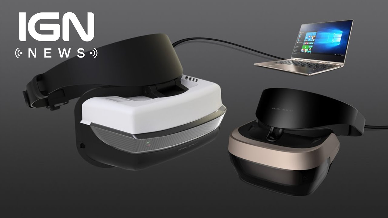 Microsoft Partnering With 'Top PC Makers' for Windows 10 VR Headsets – IGN News