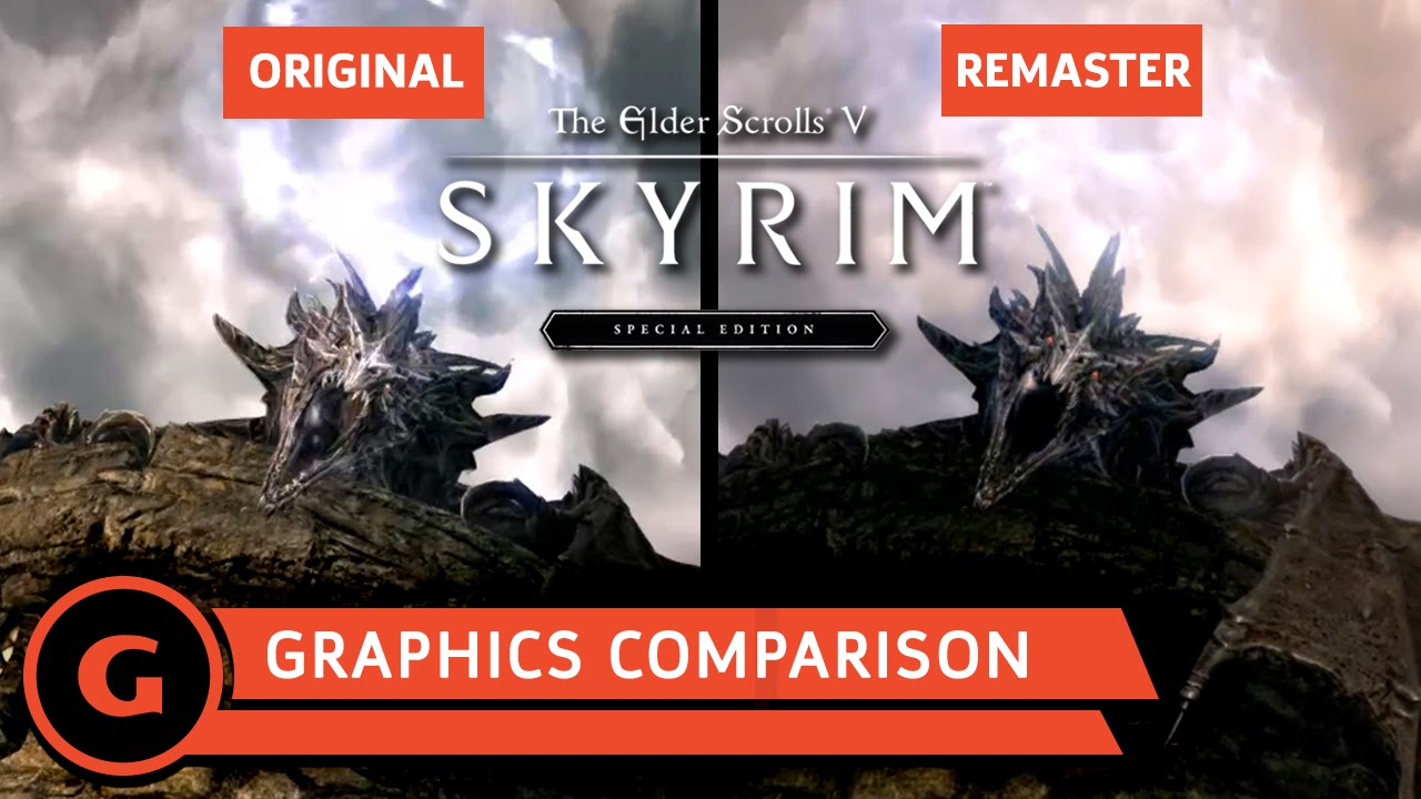 Skyrim: Special Edition – PC Graphics Comparison