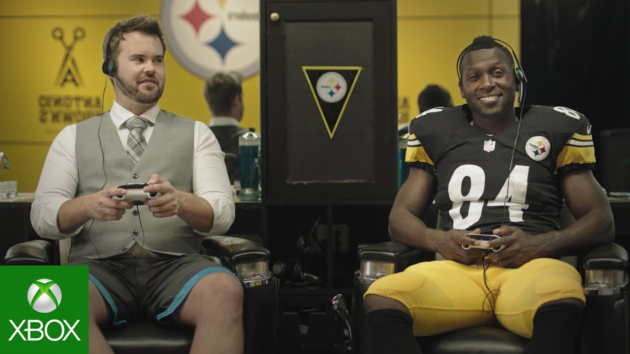 NFL on Xbox: Storage with Antonio Brown