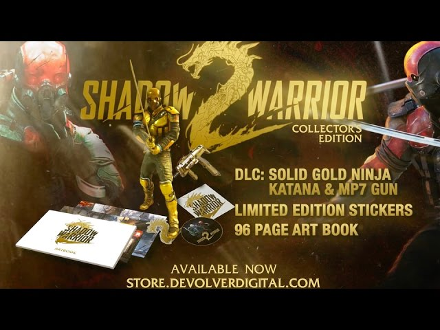 Shadow Warrior 2 – Special Reserve Collector's Edition