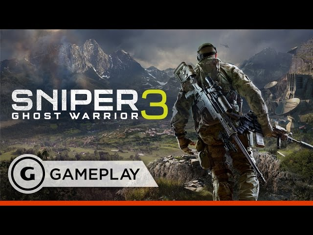 Satellite Infiltration in Sniper Ghost Warrior 3 – Gameplay