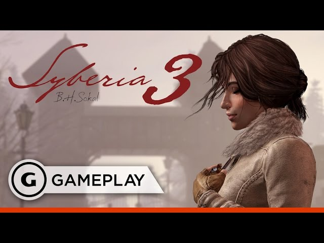 Escape from the Asylum in Syberia 3 – Gameplay