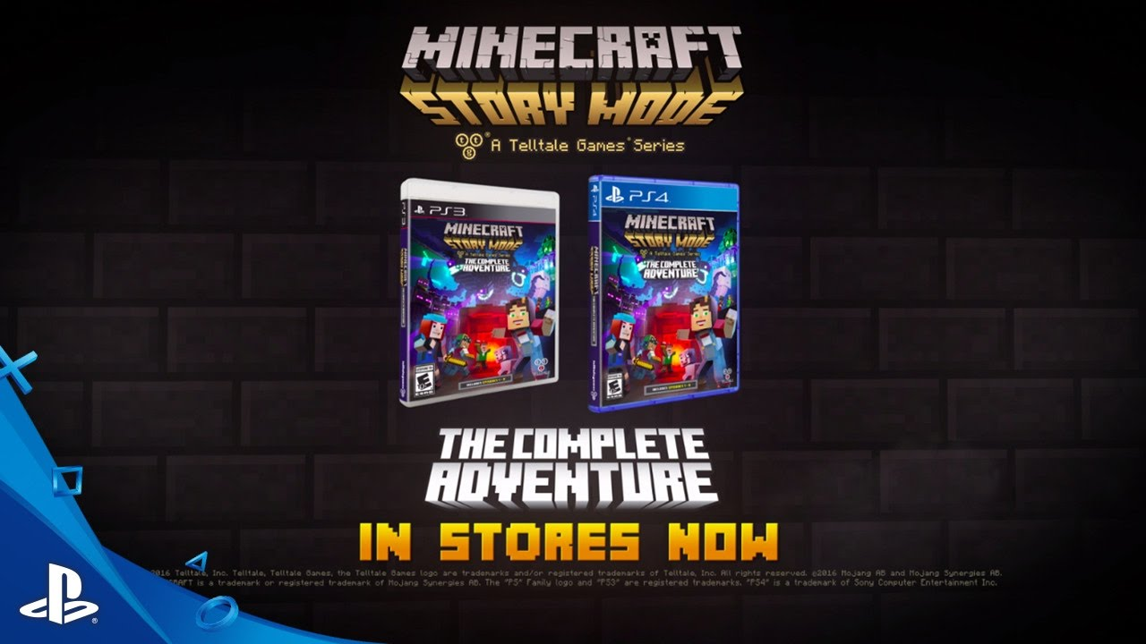 Minecraft: Story Mode – A Telltale Games Series – The Complete Adventure Trailer | PS4, PS3