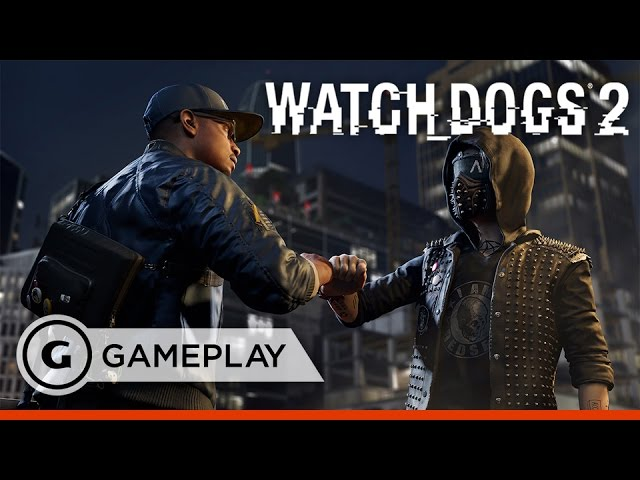 "12 Minutes of ""False Profits"" Gameplay – Watch Dogs 2"