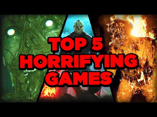 Top Upcoming Horror Games