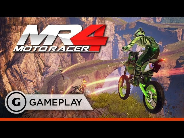 Moto Racer 4 – Interstate of Mind – Gameplay