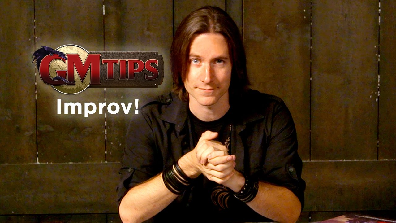 Improv and the Unexpected (GM Tips w/ Matt Mercer)