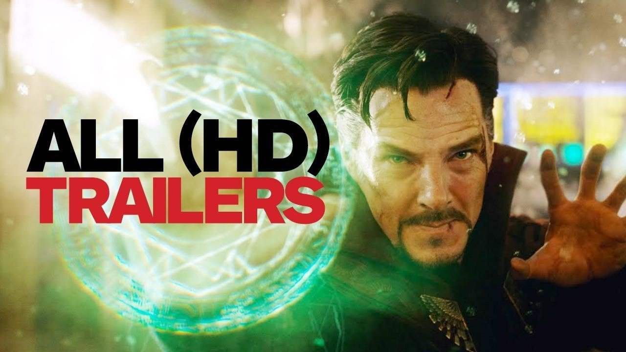 Doctor Strange (2016) – All Trailers & Clips