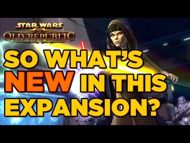 SWTOR: Knights of the Eternal Throne – What is New in the Expansion?