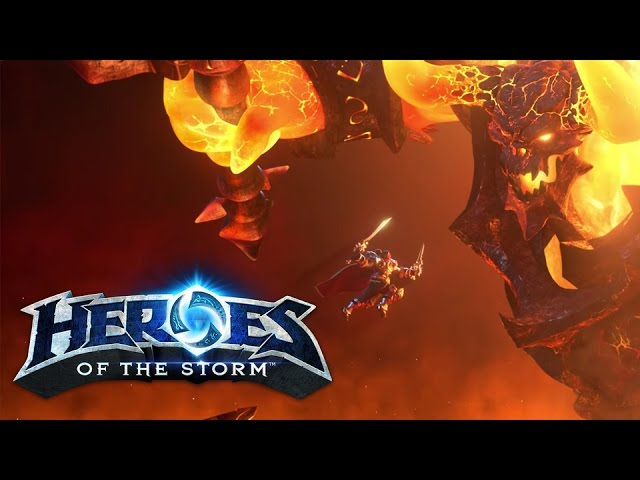 Heroes of the Storm – Official Update Overview: Varian, Ragnaros, New Skins, and Mounts!