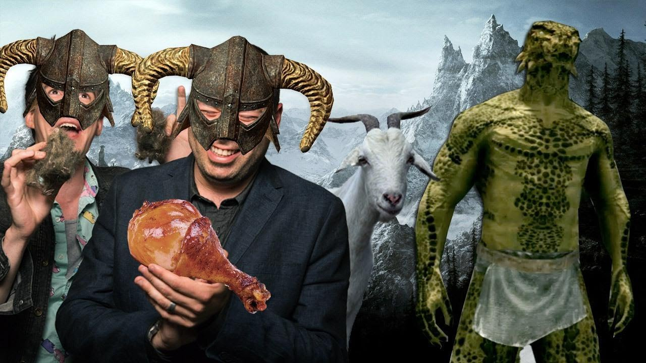 Here's 15 Minutes of Total Stupidity In Skyrim HD