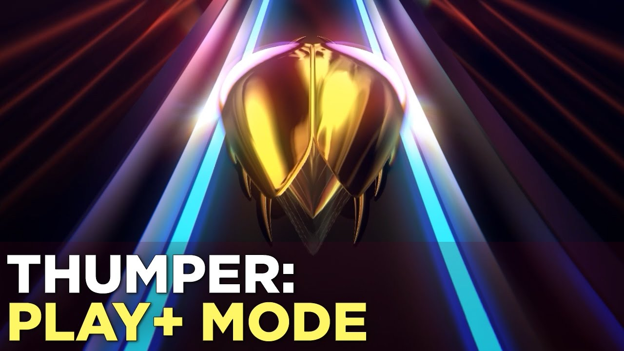 "THUMPER Update: New ""Play +"" Mode Gameplay Interview"