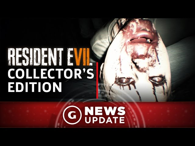 Resident Evil 7 Collector's Edition Comes With Dummy Finger and Mansion – GS News Update