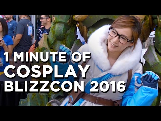 Overwatch & World of Warcraft Cosplay at Blizzcon 2016