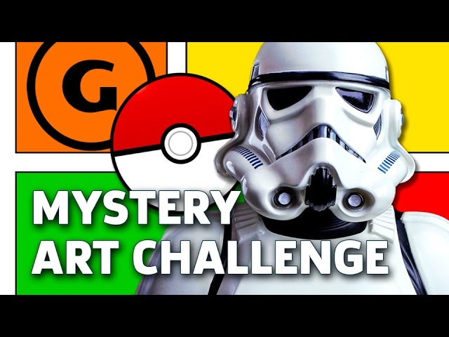 Ray-Anthony Height Draws a Stormtrooper and a Poké Ball – Mystery Art Challenge