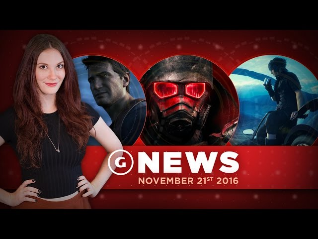 Final Fantasy XV Leaks Early & Uncharted 4 Gets Co-Op Mode! – GS Daily News