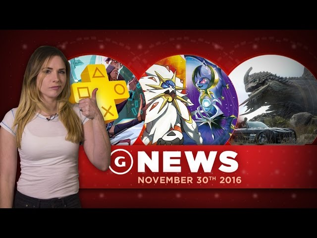 PS Plus Games for December Revealed & Pokemon Breaks Sales Records – GS Daily News